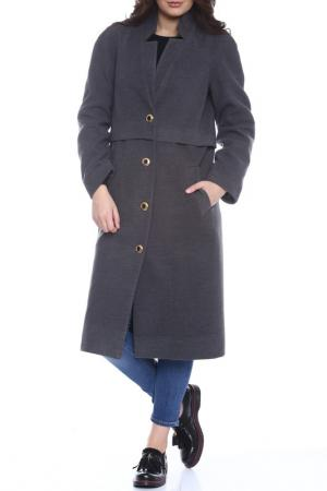 Пальто Moda di Chiara. Цвет: dark grey