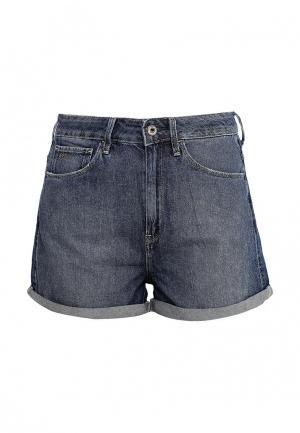 Шорты джинсовые G-Star. Цвет: синий