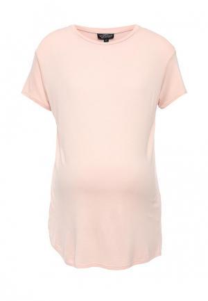 Футболка Topshop Maternity. Цвет: розовый