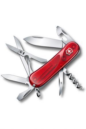 Нож перочинный 14 функций Victorinox. Цвет: красный
