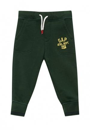 Брюки спортивные Gap. Цвет: зеленый