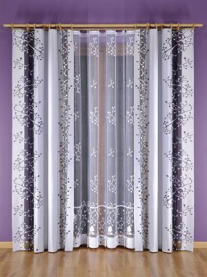Комплект штор Wisan. Цвет: белый