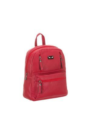 Рюкзак 5655 искусственная кожа Sofiya. Цвет: красный