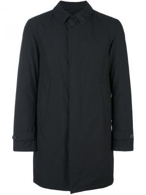 Пальто со стеганой подкладкой Herno. Цвет: чёрный