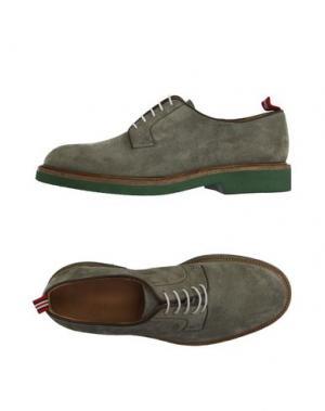 Обувь на шнурках GREEN GEORGE. Цвет: зеленый