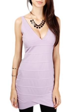 Платье LESARA. Цвет: фиолетовый
