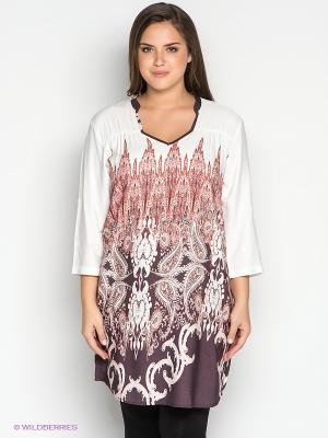 Платье PENYE MOOD. Цвет: белый, фиолетовый, оранжевый