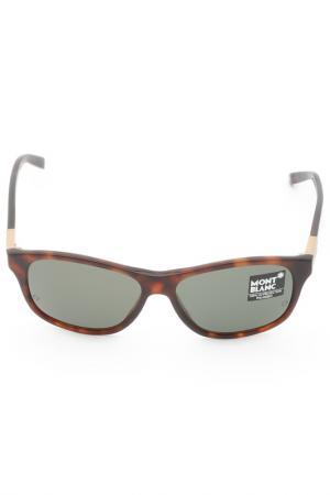 Очки солнцезащитные Montblanc. Цвет: 52r