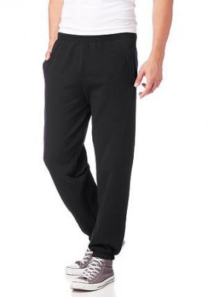 Тренировочные брюки, Fruit Of  Loom THE. Цвет: чёрный