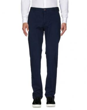 Повседневные брюки MCS MARLBORO CLASSICS. Цвет: темно-синий