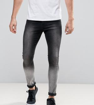 Brooklyn Supply Co. Черно-серые джинсы Co. Цвет: черный