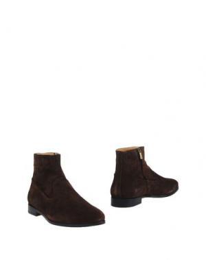 Полусапоги и высокие ботинки BELSIRE. Цвет: темно-коричневый