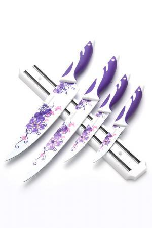 Набор ножей 4 пр., магнит Mayer&Boch. Цвет: фиолетовый