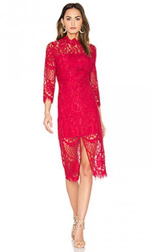 Платье leading lady Yumi Kim. Цвет: красный
