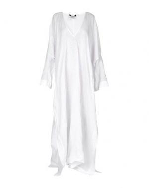 Длинное платье DSQUARED2. Цвет: белый