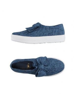 Низкие кеды и кроссовки F-TROUPE. Цвет: синий