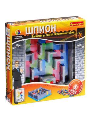 Логическая игра Bondibon Шпион, арт. SG310  RU. Цвет: серый, салатовый, красный
