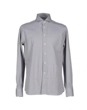 Pубашка NO BRAND. Цвет: серый