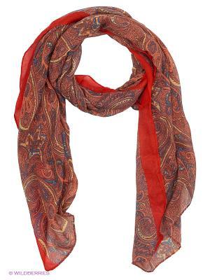 Палантин FOMAS. Цвет: красный, терракотовый