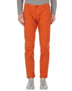 Повседневные брюки AR AND J. Цвет: оранжевый