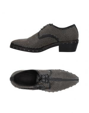 Обувь на шнурках INK. Цвет: черный