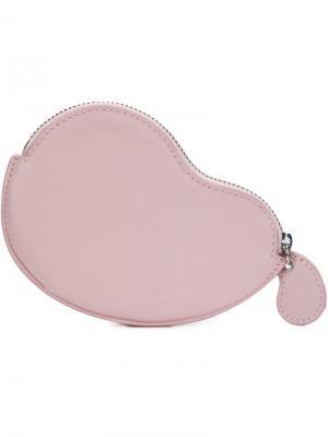 Клатч Le Haricot Jacquemus. Цвет: розовый и фиолетовый