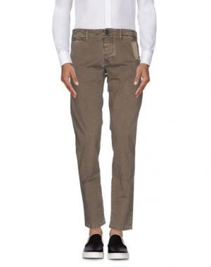 Повседневные брюки REIGN. Цвет: серый