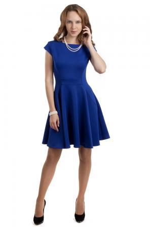 Вечернее платье Joseph Ribkoff. Цвет: синий