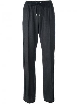 Классические брюки Kenzo. Цвет: серый
