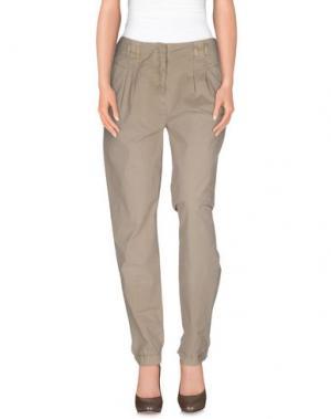 Повседневные брюки MAGAZZINI DEL SALE. Цвет: бежевый