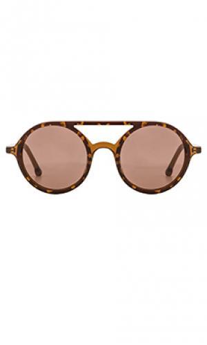 Солнцезащитные очки juniper Steven Alan. Цвет: коричневый