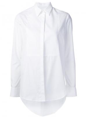 Classic shirt Racil. Цвет: белый
