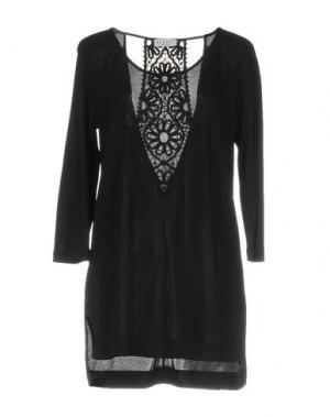 Платье до колена BARONI. Цвет: черный
