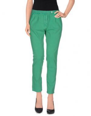 Повседневные брюки JUST FOR YOU. Цвет: зеленый