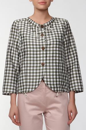 Блуза Marly's. Цвет: зеленый