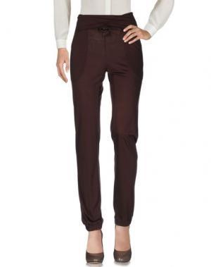 Повседневные брюки JEI O'. Цвет: коричневый