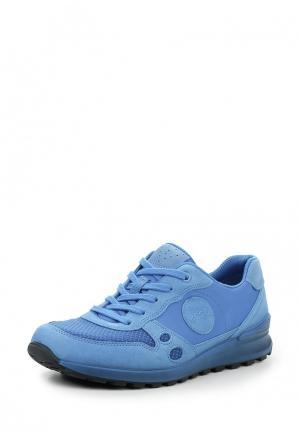 Кроссовки Ecco. Цвет: голубой