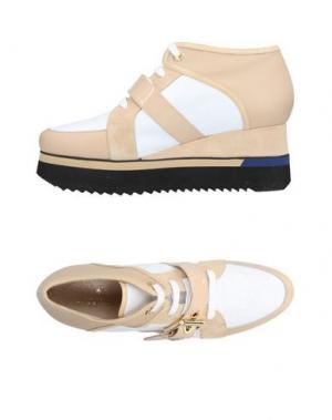 Обувь на шнурках GUIDO SGARIGLIA. Цвет: песочный
