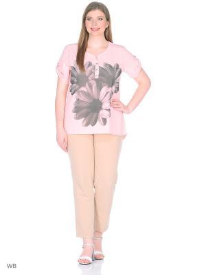 Блуза Жасмин BlagoF. Цвет: бледно-розовый