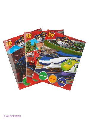 Набор развивающих книг Чаггинтон НД плэй. Цвет: синий, зеленый, красный