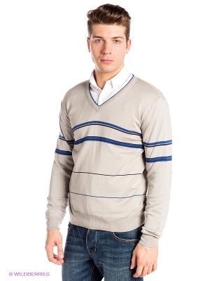 Пуловер RETIEF. Цвет: серый