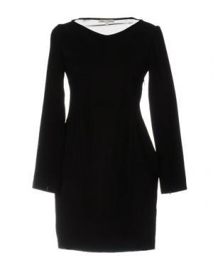 Короткое платье MAJE. Цвет: черный