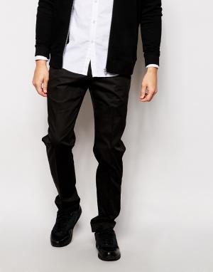 AKA Строгие брюки. Цвет: черный
