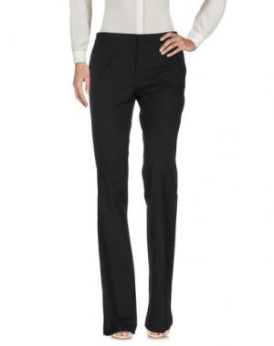 Повседневные брюки QL2 QUELLEDUE. Цвет: черный