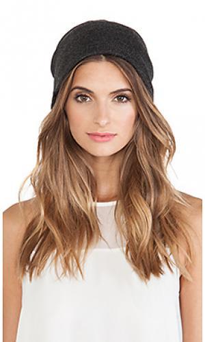 Шляпа Plush. Цвет: уголь