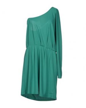 Короткое платье BYDANIE. Цвет: зеленый
