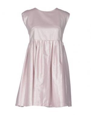Короткое платье VICOLO. Цвет: светло-розовый