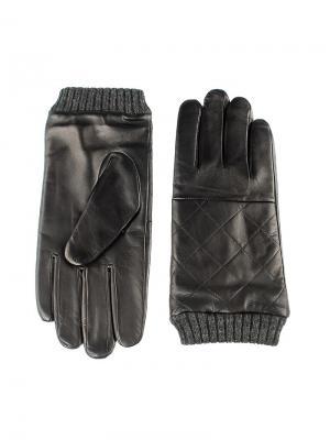 Перчатки мужские Piero. Цвет: черный