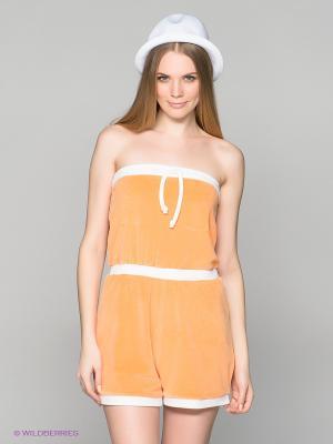 Комбинезон GANT. Цвет: оранжевый, белый