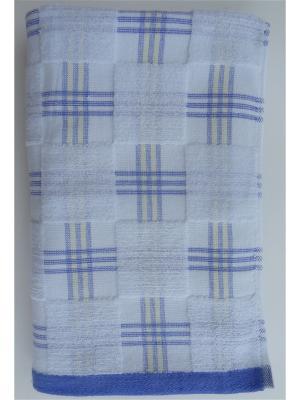 Банное полотенце A and C Collection. Цвет: голубой